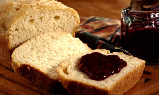 Pão caseiro no liquidificador