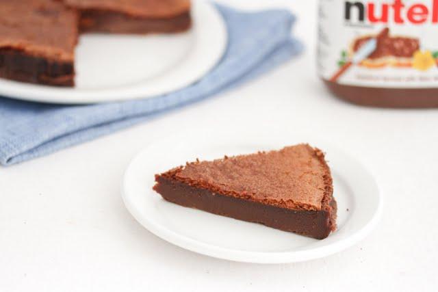 Bolo de Nutella (2 ingredientes)