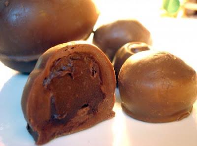 Trufa de Chocolate (2 ingredientes)