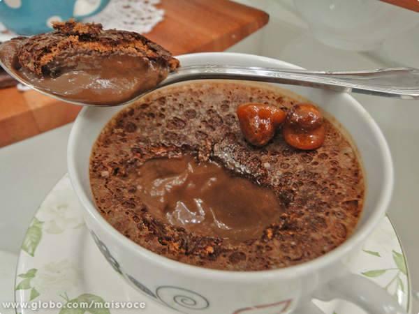 Creme de Chocolate com Avelã