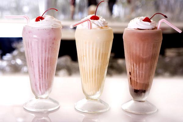 Milk shake prático