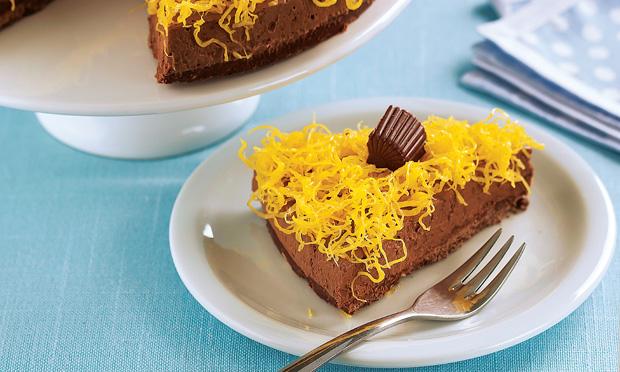 Torta-musse de chocolate Alpino®
