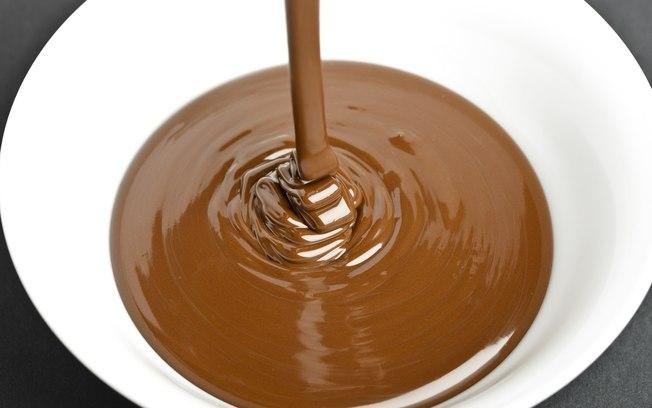 Cobertura e recheio de chocolate
