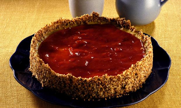 Cheesecake de aveia