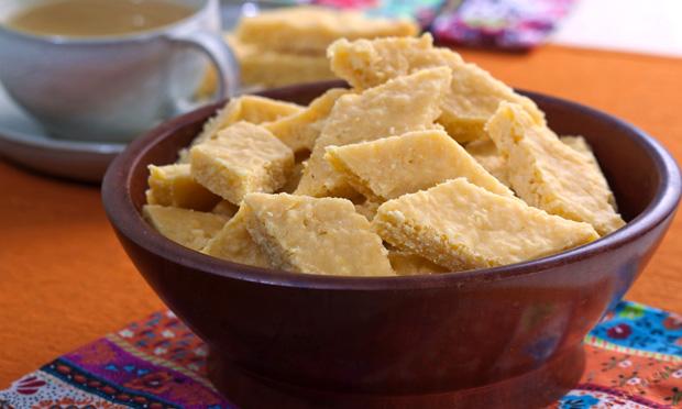 Cocada de milho em conserva