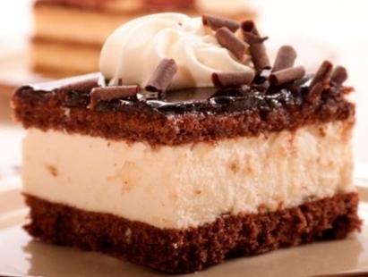 Bolo de chocolate com cream cheese