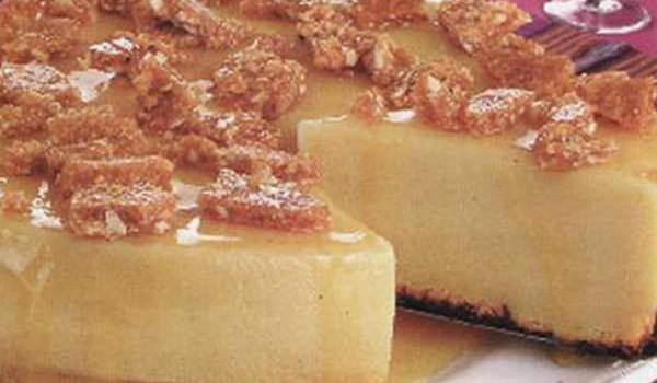 Pudim brigadeirão com caramelo crocante