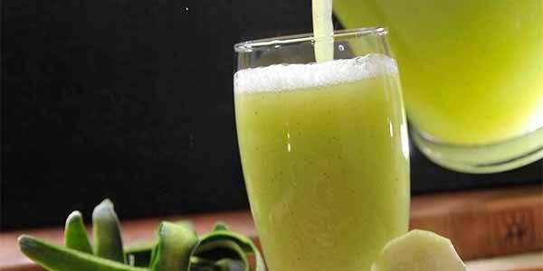 Receita de Bebida refrescante para alisar barriga em 4 dias