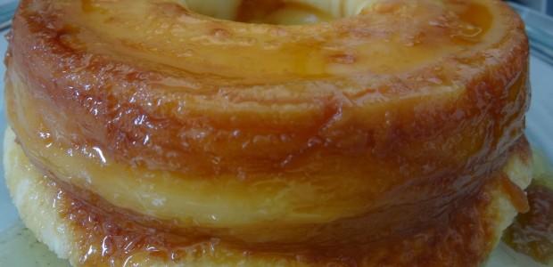 Bolo queijadinha de micro-ondas