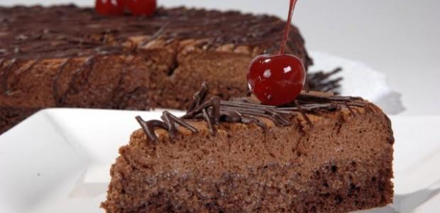 Bolo aerado de chocolate