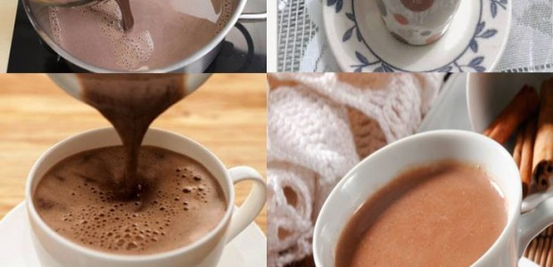 Chocolate quente rápido