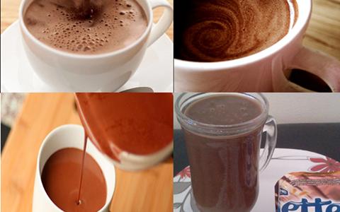 Chocolate quente de Danette