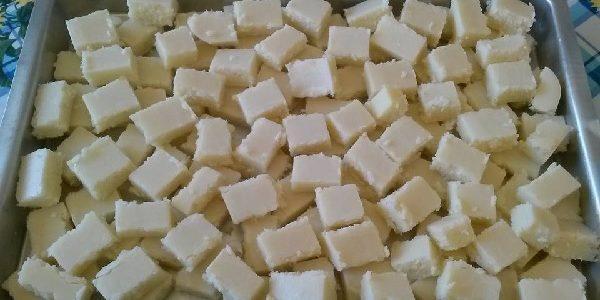 Cocadinha de leite Ninho