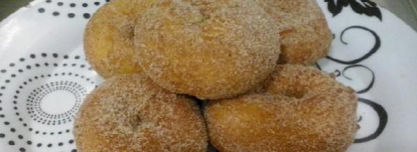 Rosquinhas com Açúcar e Canela