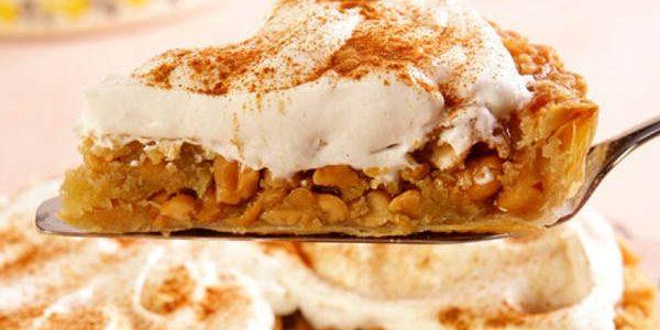 Torta cremosa de amendoim