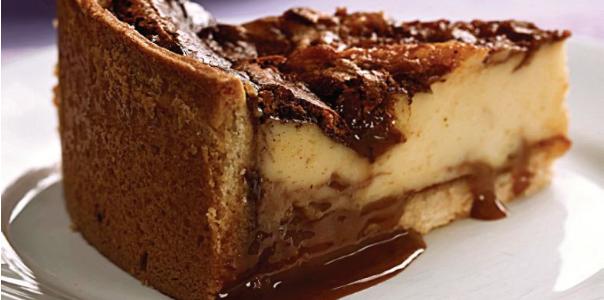Torta mármore cremosa