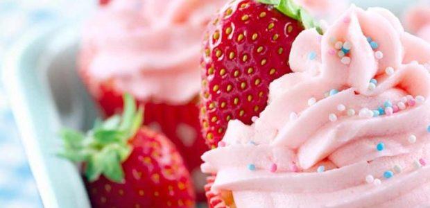 Cupcake de iogurte