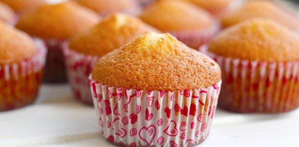 Cupcake tipo bolo inglês