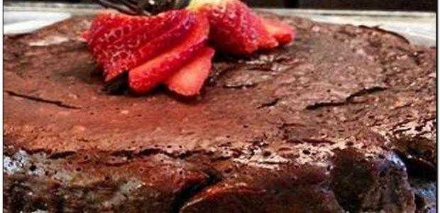 Torta mousse de brownie