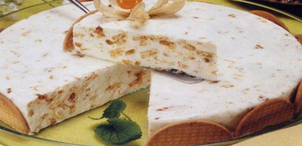 Torta de bolacha Maria
