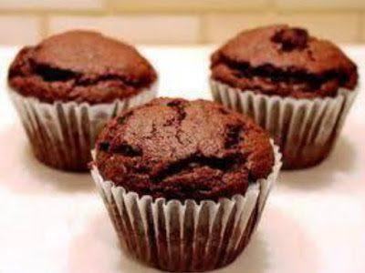Muffins de Chocolate e Canela