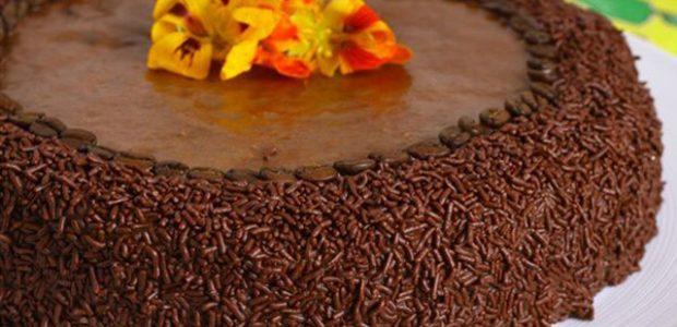 Torta Cremosa de Café