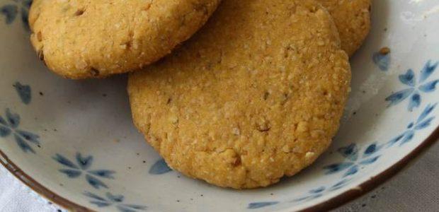 Cookie de fubá