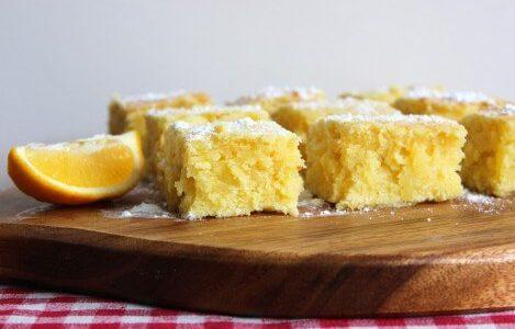 Brownie de limão