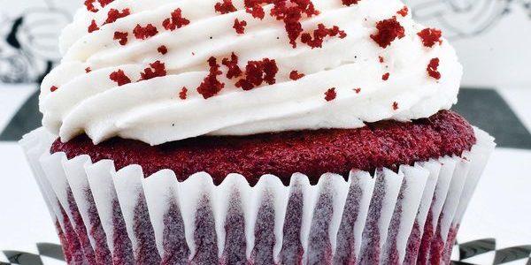 Cupcake tipo red velvet
