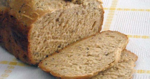 Pão integral no micro-ondas