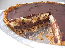 Torta cremosa Snickers