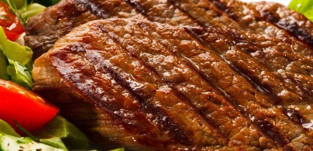 Picanha com alho grelhado
