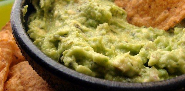 Guacamole caseira