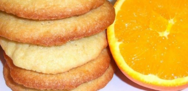 Biscoitinho de laranja