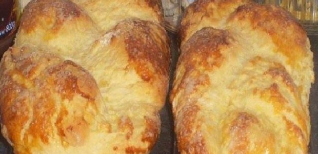Pão caseiro de mandioquinha