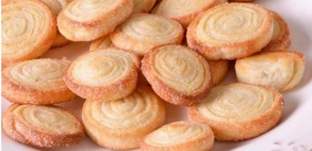 Biscoito caseiro crocante