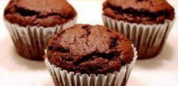 Muffin de chocolate e canela