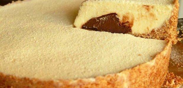 Torta de Leite ninho e nutella