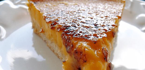 Torta brûlée de limão