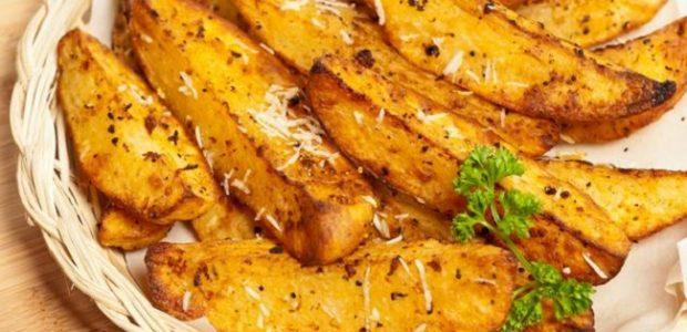 Batata frita de forno